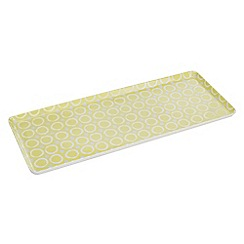 Creative Tops - Lime spotted sandwich tray