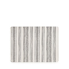 Creative Tops - Pack of four grey stripe placemats