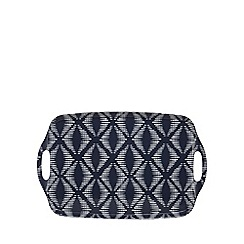 Home Collection Basics - Muti-coloured geometric print large tray