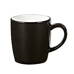 Home Collection Basics - Black 'Two Tone' mug