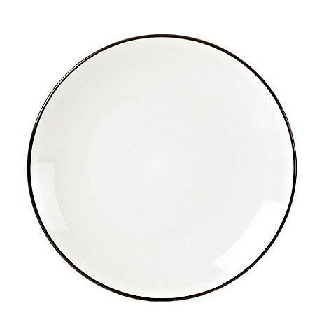 Home Collection Basics - Black +Two Tone+ dessert plate