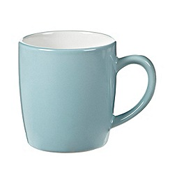 Home Collection Basics - Blue 'Two Tone' mug