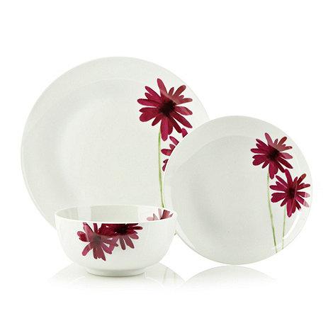 Sabichi - Pink +Gerbera+ floral 12 piece boxset