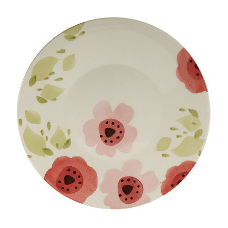 Debenhams - Earthenware +Meadow Flower+ side plate