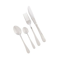 Horwood - 24 piece continental thread cutlery set
