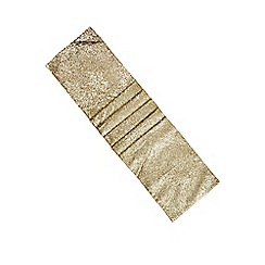 Home Collection - Gold sequinned runner