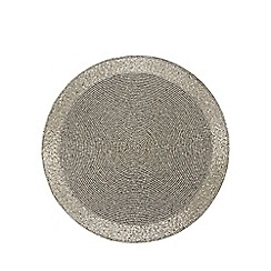 Home Collection - Silver beaded placemat