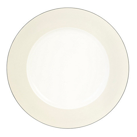J by Jasper Conran - Dark blue +Coombe+ dinner plate