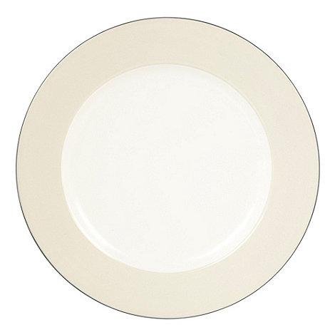 J by Jasper Conran - Dark blue +Coombe+ dessert plate