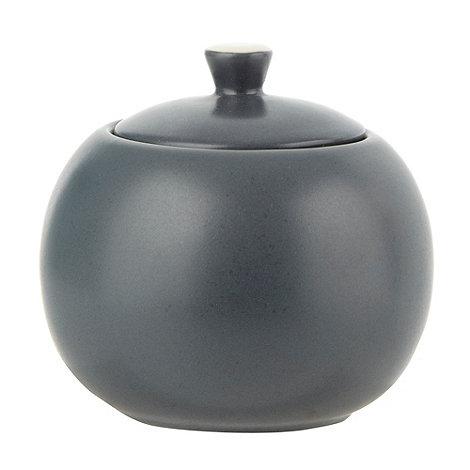 J by Jasper Conran - Dark blue +Coombe+ lidded sugar bowl