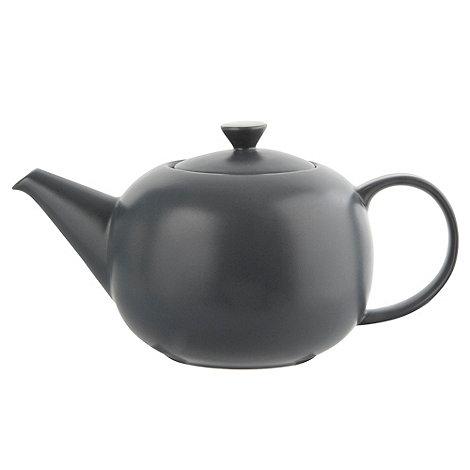 J by Jasper Conran - Dark blue +Coombe+ stoneware teapot