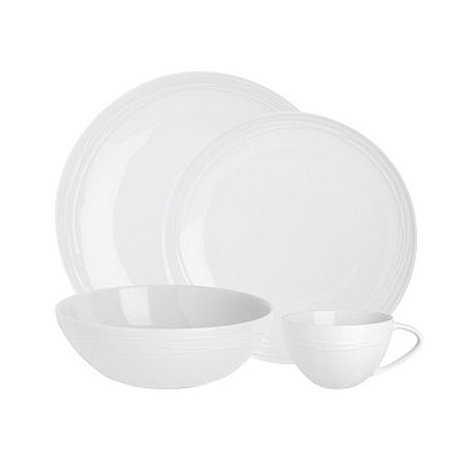 RJR.John Rocha - Etch sixteen piece dinner set