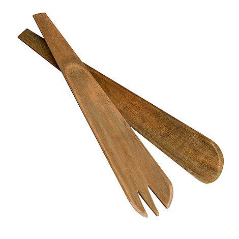 RJR.John Rocha - Wooden salad servers