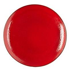 RJR.John Rocha - Red 'Pico' dinner plate