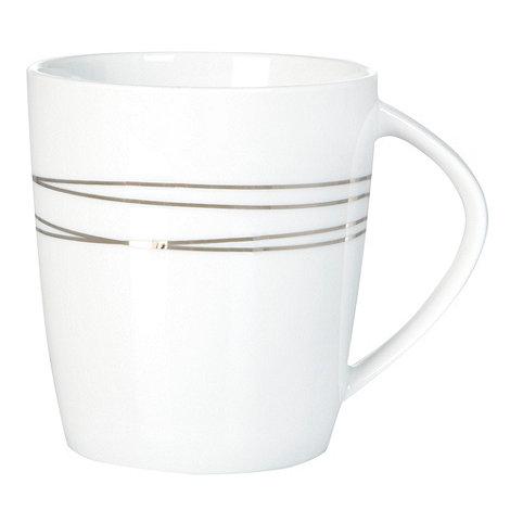 RJR.John Rocha - Platinum etched porcelain mug