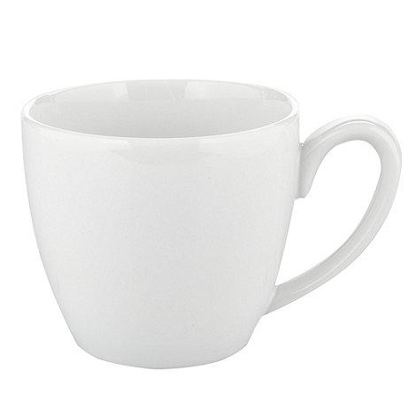 J by Jasper Conran - White +Audley+ espresso cup
