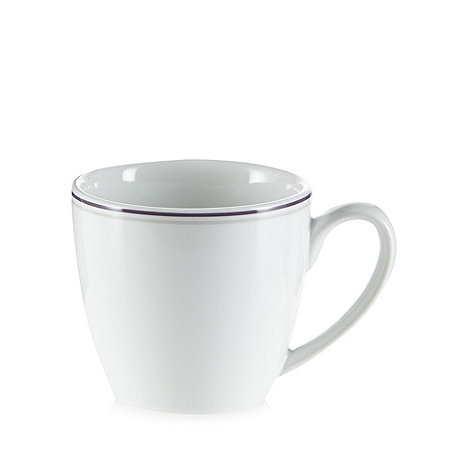 J by Jasper Conran - Designer purple porcelain express cup