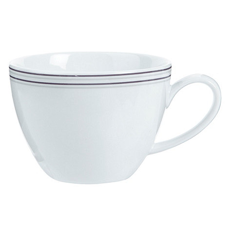 J by Jasper Conran - White +Ebury+ tea cup
