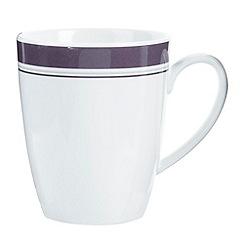 J by Jasper Conran - White 'Ebury' mug