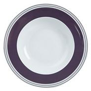 White 'Ebury' soup plate