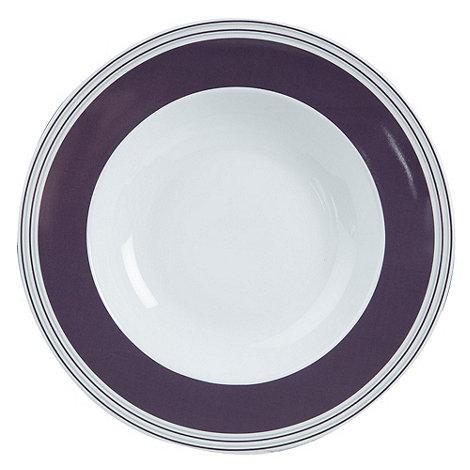 J by Jasper Conran - White +Ebury+ soup plate