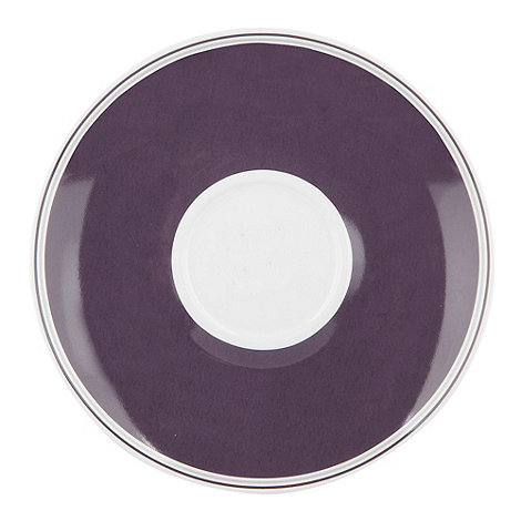 J by Jasper Conran - White +Ebury+ tea saucer