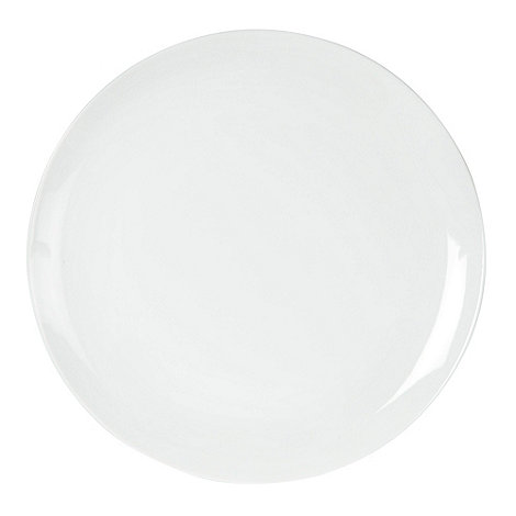 Ben de Lisi Home - White +Dine+ dinner plate