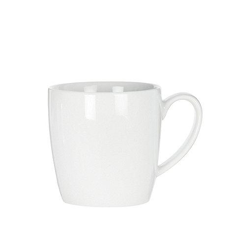Ben de Lisi Home - White +Dine+ porcelain mug