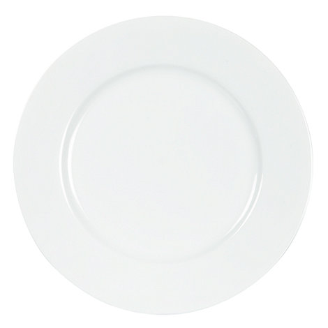 Ben de Lisi Home - White +Dine+ porcelain dinner plate