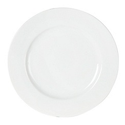 Ben de Lisi Home - White 'Dine' porcelain dessert plate
