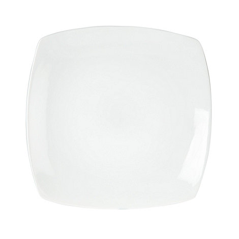 Ben de Lisi Home - White 'Dine' large square platter