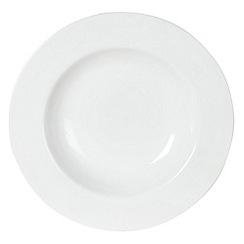 Ben de Lisi Home - White 'Dine' soup plate