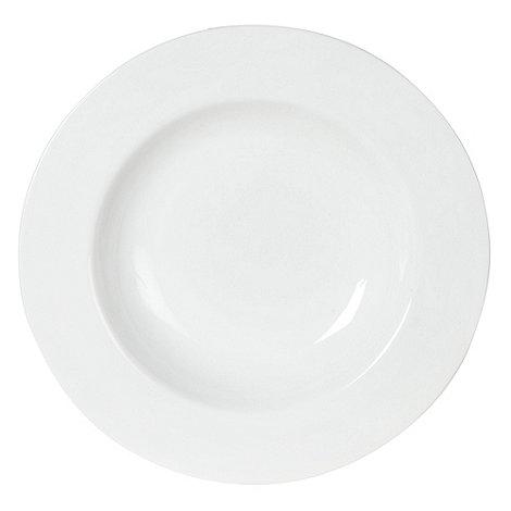 Ben de Lisi Home - White +Dine+ soup plate