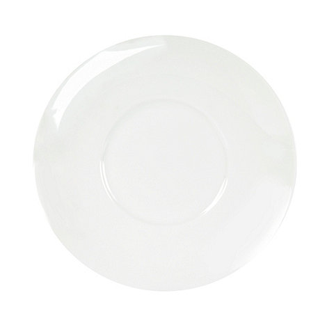 Ben de Lisi Home - White +Dine+ tea saucer