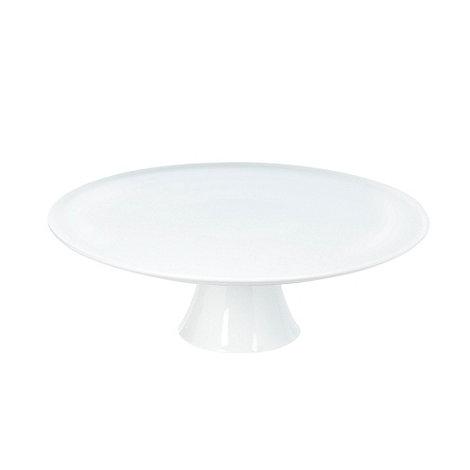Ben de Lisi Home - White +Dine+ porcelain cake stand
