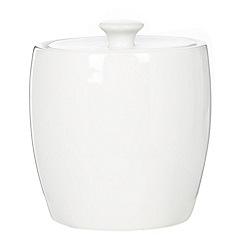 Ben de Lisi Home - Ben de Lisi porcelain 'Dine' porcelain sugar bowl