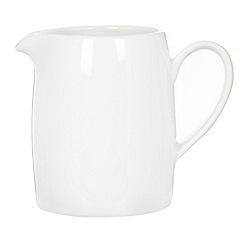Ben de Lisi Home - White 'Dine' porcelain creamer