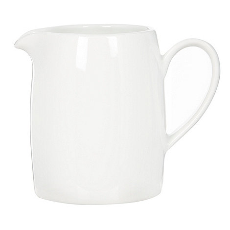 Ben de Lisi Home - White +Dine+ porcelain creamer