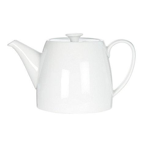 Ben de Lisi Home - White +Dine+ porcelain teapot