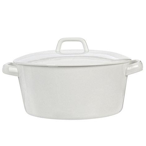 Ben de Lisi Home - Porcelain 19.5cm +Dine+ casserole dish