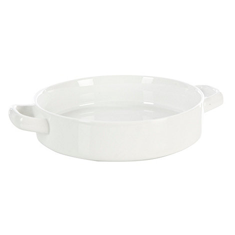 Ben de Lisi Home - Porcelain 16cm +Dine+ round oven dish