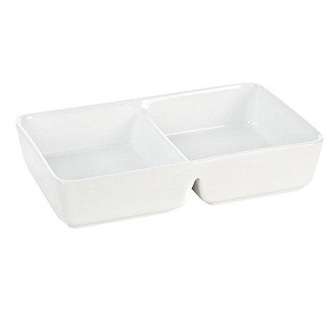 Ben de Lisi Home - Ben de Lisi porcelain +Dine+ 28.5cm rectangular dish
