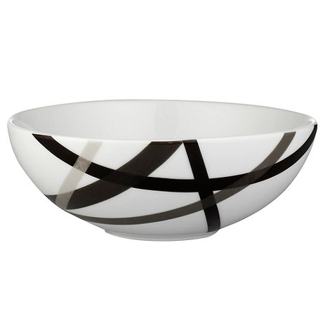Ben de Lisi Home - White +Brooklyn+ pasta bowl