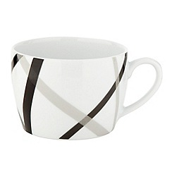 Ben de Lisi Home - White 'Brooklyn' tea cup