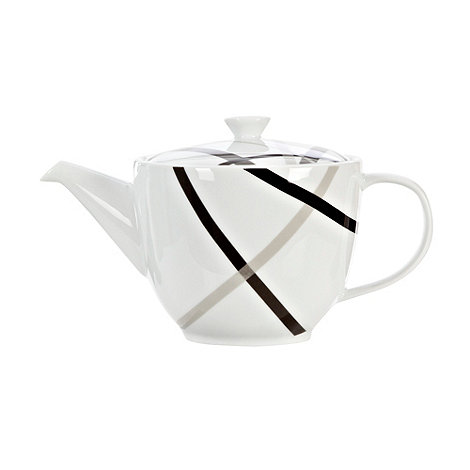 Ben de Lisi Home - White +Brooklyn+ teapot