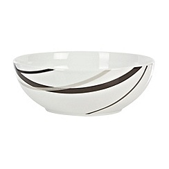 Ben de Lisi Home - White 'Brooklyn' large bowl