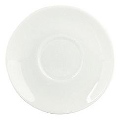 Ben de Lisi Home - Porcelain 'Dine' espresso saucer