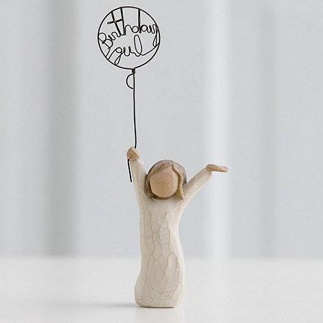 Willow Tree - Natural +Birthday Girl+ figurine