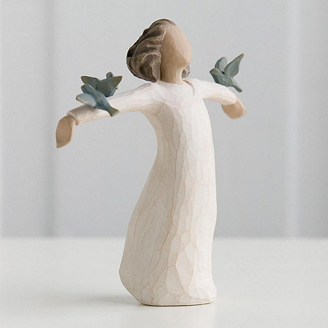 Willow Tree - Natural +Happiness+ figurine