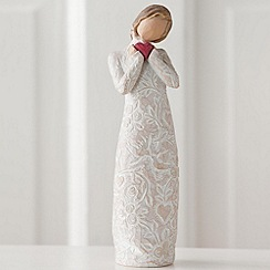 Willow Tree - Natural 'Je T'aime' figurine